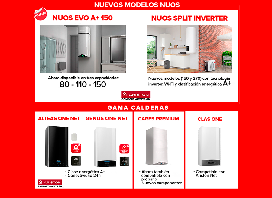 ARISTON GAMA CALDERAS 1